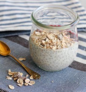 chia grød superfood morgenmad